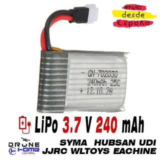 Batería LiPo 3.7V 240mAh
