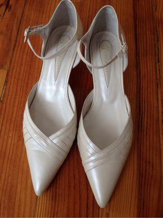 zapatos de novia de segunda mano en irun en wallapop