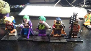 Colección 28 mini figuras MARVEL-DC