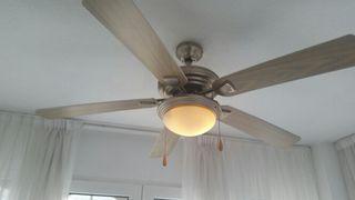 lampara ventilador de techo