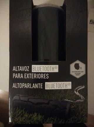 altavoz Bluetooth PRECINTADO!!