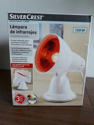 Lámpara infrarrojos 150w. A estrenar.