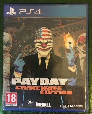 Pay Day 2: Crimewave Edition PS4 PRECINTADO!!!
