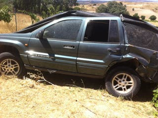Jeep Grand cherokee 2002 siniestrado