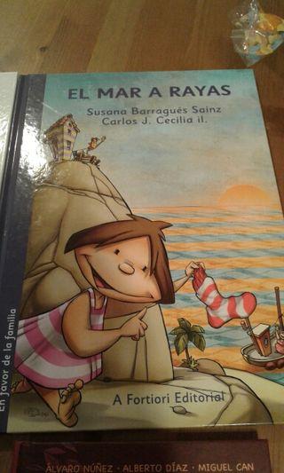 Libro infantil, El MAR A RAYAS