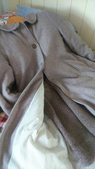Abrigo largo neck and neck talla 10-12
