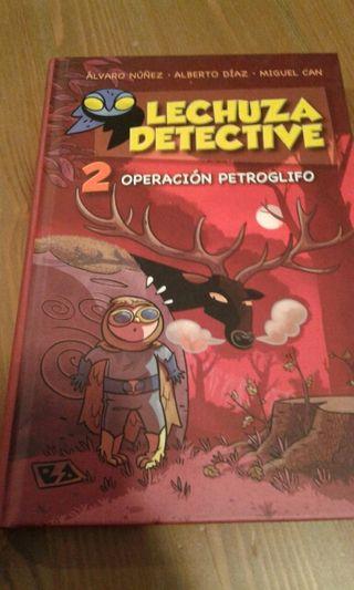 libro infantil, LECHUZA DETECTIVE 2