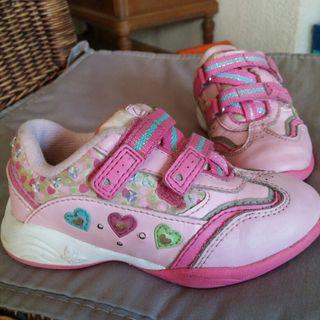 Clarks mano por con luces 6 para deportivos de Zapatos niña segunda wgxqFCnR