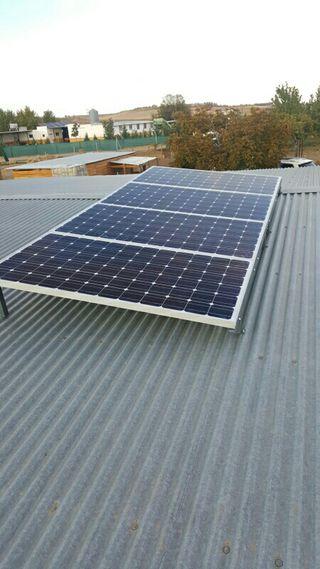 Placas solares NUEVAS 24V 200W 72 celulas MONO