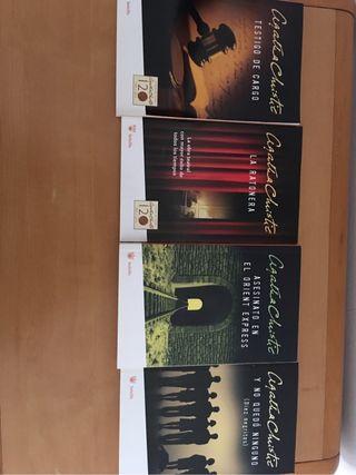 4 libros de aghata christie