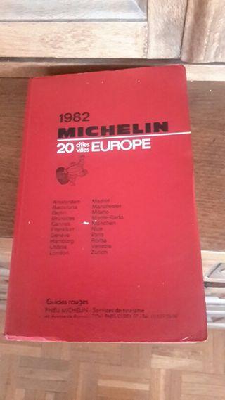 Guia Roja Michelin de 1982