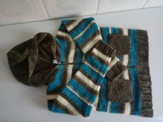 Chaqueta de lana de niña