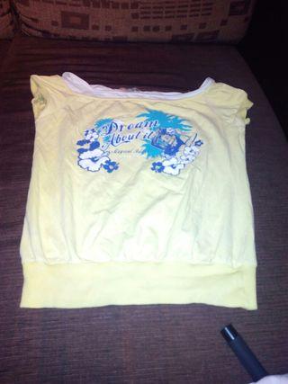 camiseta talla L