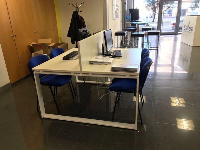 Mesas De Oficina Madrid. Simple Mesas De Oficina Eqin ...
