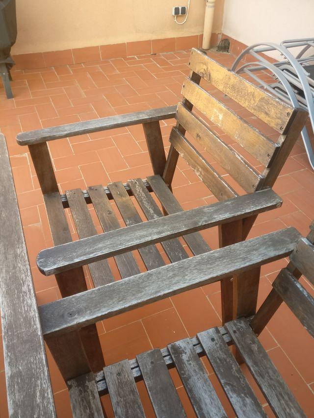 Mesa Ikea terraza