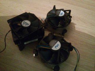 Desipadores calor pc ordenador intel amd i3 i5 i7 core dos duo pentium 4 code quad