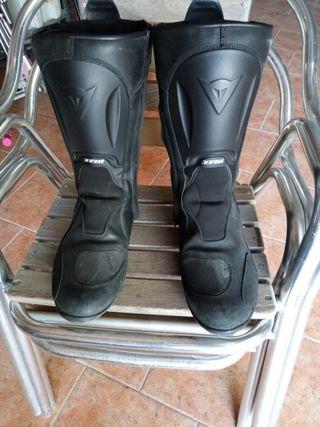 botas moto gorotex hombre