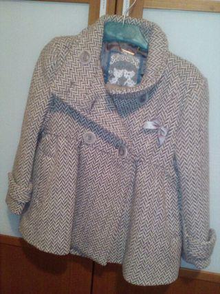 Chaqueton/ abrigo niña
