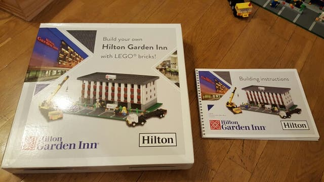 Hotel Hilton Garden Inn LEGO