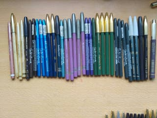 34 lapices eye liner varios colores