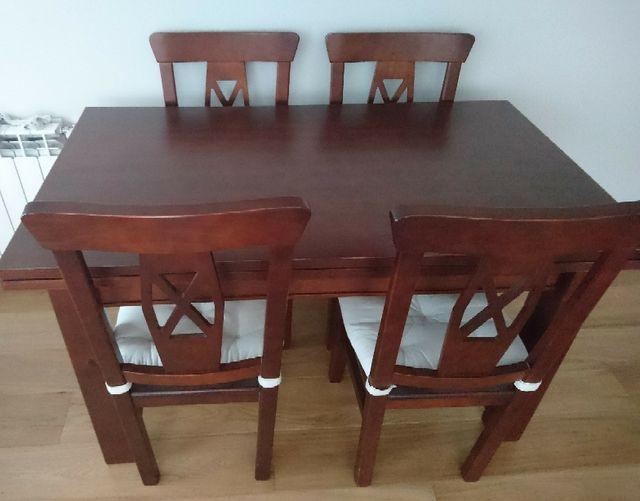 Mesa comedor madera extensible de segunda mano por 420 € en ...