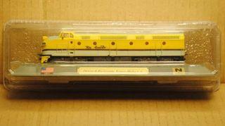 Precioso tren locomotora Denver y Río Grande EEUU