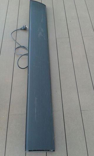 Calefactor eléctrico para terraza
