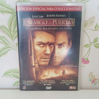 DVD Enemigo a las puertas