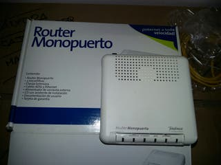 Router adsl-Monopuerto