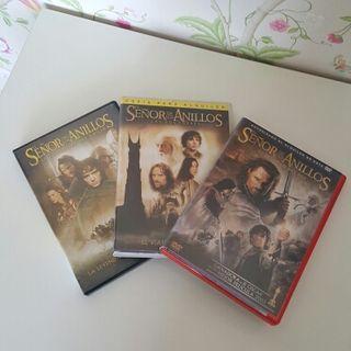 DVDs El señor de los anillos