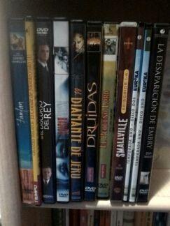 Lote DVD.Los 11+ 1 dvd de regalo por 8€