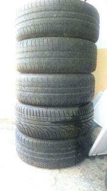 llantas + rueda de repuesto