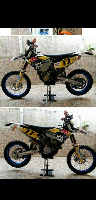 Moto Husaberg 350