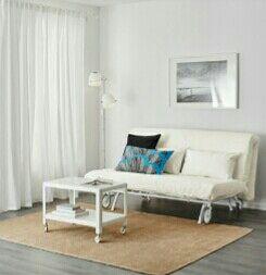 Sofá cama blanco ikea