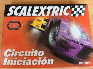 Scalextric circuito iniciacion