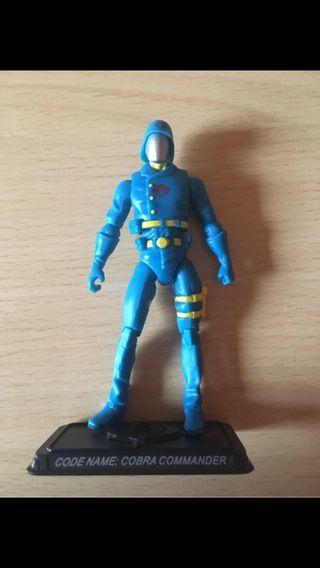 GIJOE Cobra Commander raro