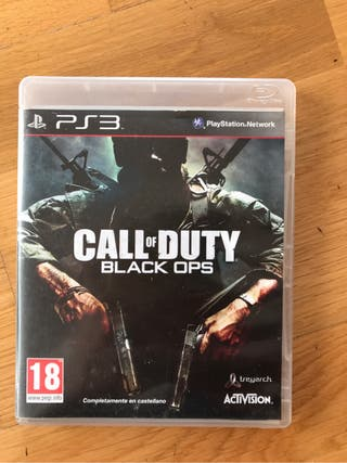 Juego ps3 Call of Duty
