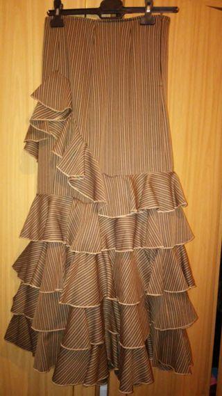 Falda rociera