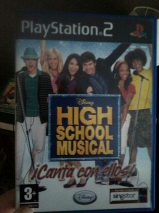 SINGSTAR HIGH SCHOOL MUSICAL NUEVO Play Station 2