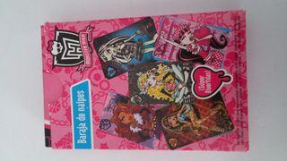 Baraja de naipes Monster High