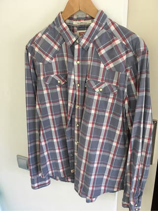 Camisa western Levi's hombre