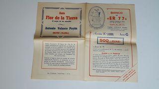 FOLLETO BANCO ER.77.SEVILLA.ABRIL 1947