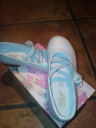 zapatos de comunion num.31