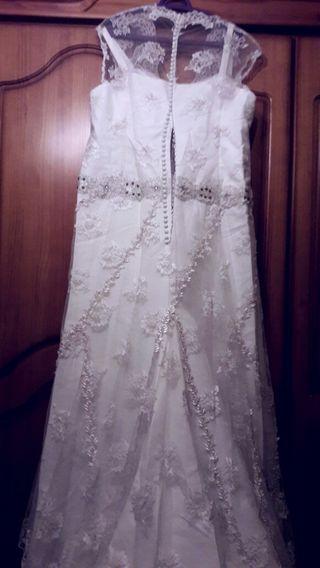 vestido de novia talla grande de segunda mano en málaga en wallapop