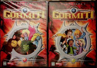Colección dvd original Gormiti.