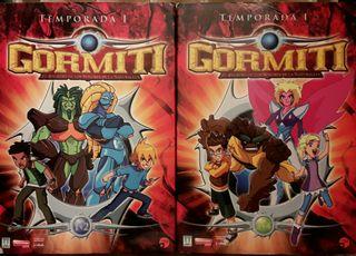 Colección dvd original Gormiti