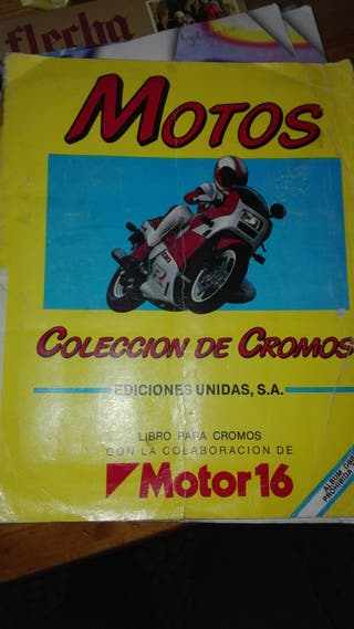 album motos incompleto
