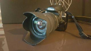 Camara fotográfica Nikon D3000