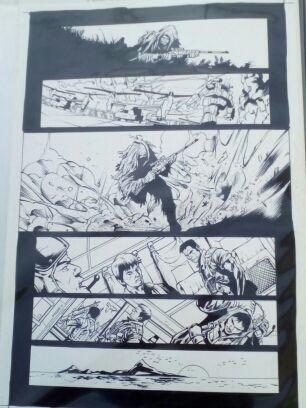 Comic original página MORAV