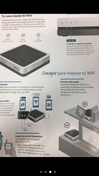 HGU Router Movistar Fibra
